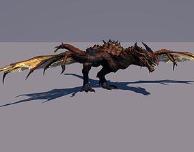 3D rigged Dragon animals