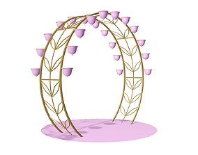 3D model Archway convex
