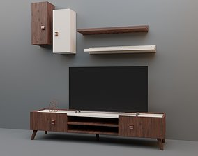 3D TV Stand Set
