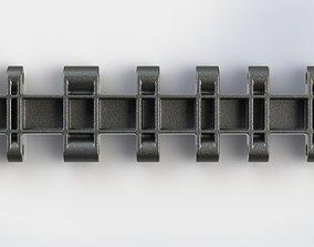 PzKpfw VI ausf B Tracks 3D model