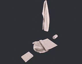 Towels Clean 3D model