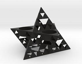 3D printable model Truncated Sierpinski Merkaba Triple 1