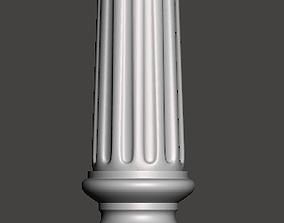 Balauster-Column - 3d model for CNC - 1