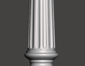 Balauster-Column - 3d model for CNC - 1