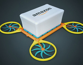 3D model Drone Delivery
