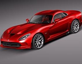 3D model Dodge Viper GTS 2013