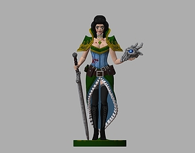 3D print model Grim Dawn girl