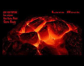 Lava Rock 01 3D model