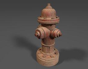 3D model Street Hydrant