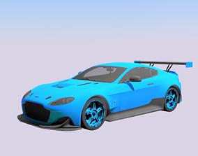 3D asset Aston Martin amp pro
