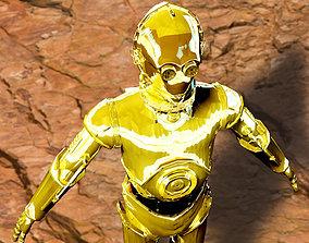 3D model C-3PO