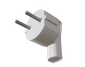 3D model Electric power plug Socet 220V