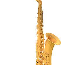 Alto Saxophone - C4D Format 3D