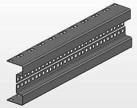 Rack 19inch 10U 3D model