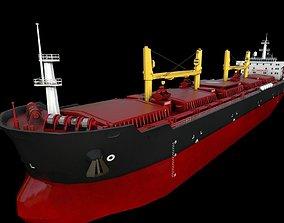 Bulk carrier 190m 3D asset
