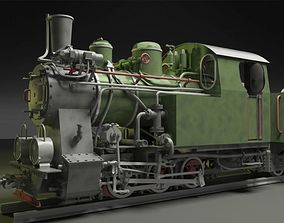 poland 3D model Py-27 Steam Locomotive
