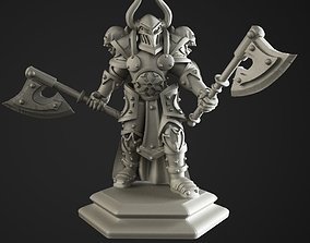 Warrior of the chaos 3D print model