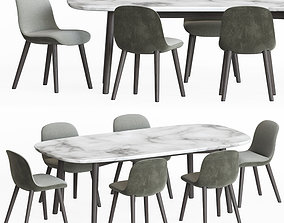 furniture 3D model Dining Set 13