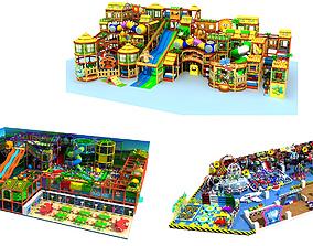 Collection of Amusement park 2 3D model