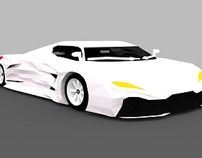 3D model Supercar ZZ16