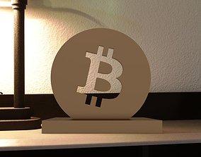 art-and-medium Bitcoin 3D Model