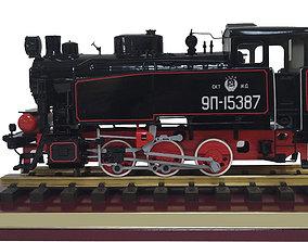 Locomotive 9P 3D print model