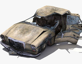 Destroyed Car 3D model