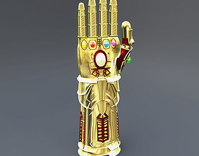Thanos Infinity Gauntlet 3D model