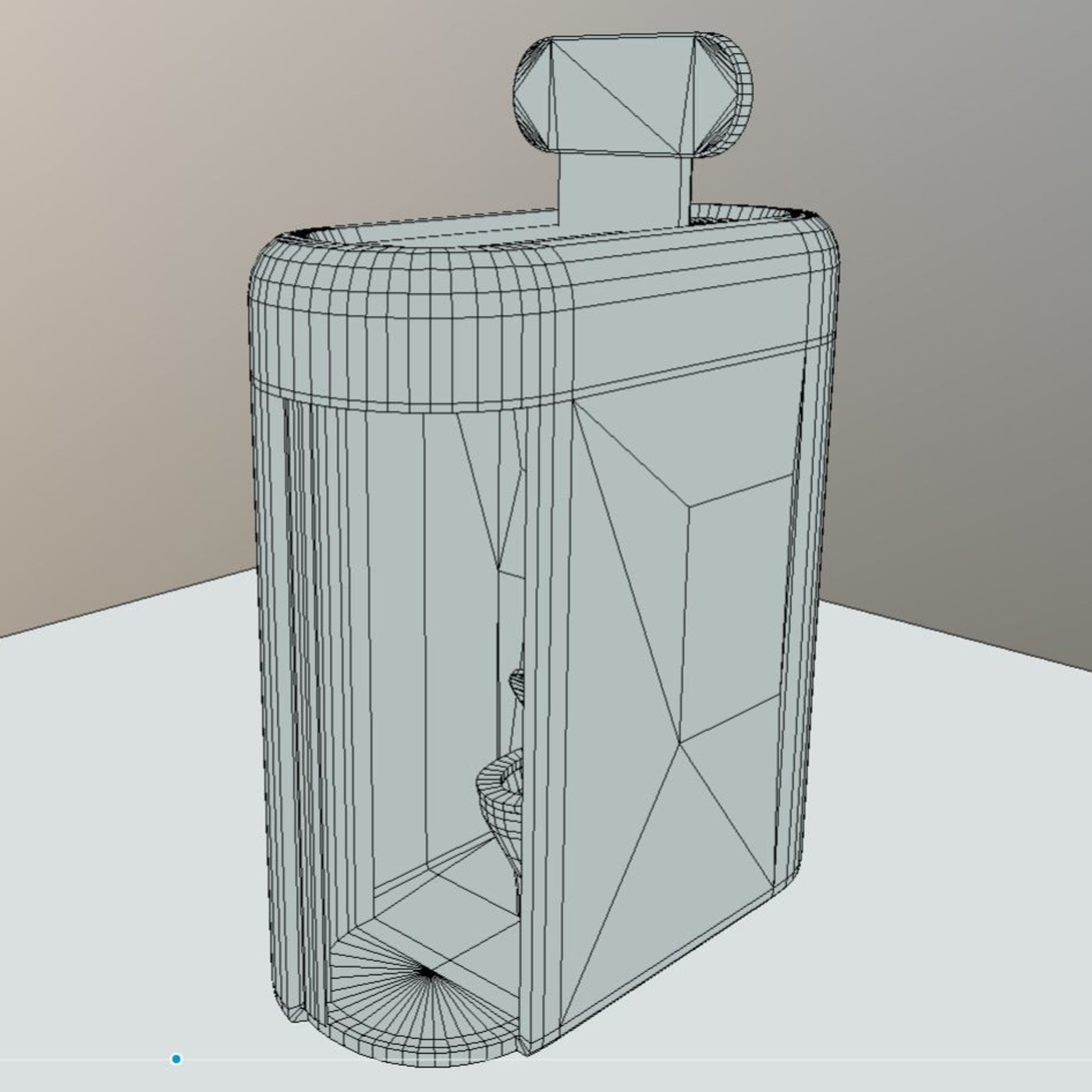 Public Toilet 1 ( High and Low-Poly )