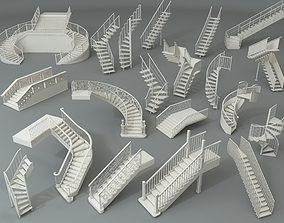 3D Stairs - Part - 2 - 20 pieces