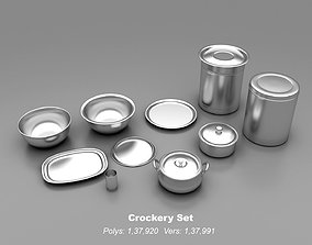 Crockery Set- Kitchenware 3D printable model