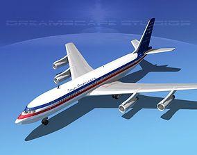 Boeing 707 Tour Americana 3D