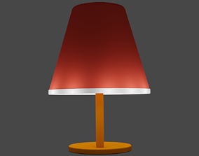 household Led lamp 3D model