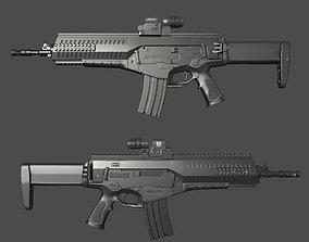 Beretta ARX-160 3D asset