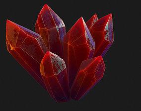 fantasy 3D asset VR / AR ready Crystal