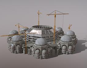 Cathedral Building Baghdad Rahman Mosque 3D asset