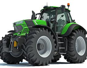 Farm Tractor wheel 3D model