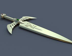 3D printable model other Gold Dagger - Saint seiya