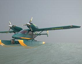 Accord-201 Floatsplane GreenYellow Livery 3D asset