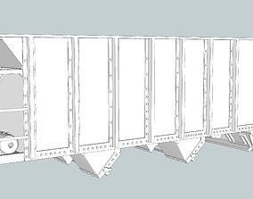 U15 Hopper HO ACL-CSX 3D printable model