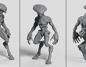 Alien Grunt 3D model