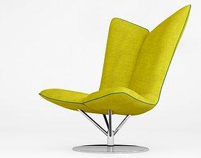 3D model Softline Angel lounge chair