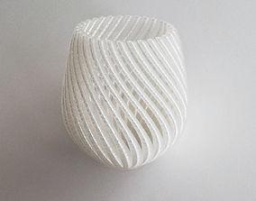 gift decorative 3D print model String Vase