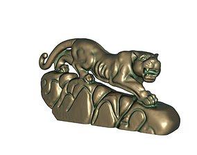3D printable model Leopard statue