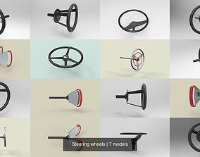 3D model Stearing wheels