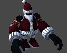 Santa robot1 3D asset