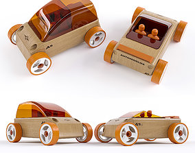 3D model a9 Toy car Automoblox A9 and A9s