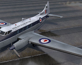 3D De Havilland DH-104 Dove