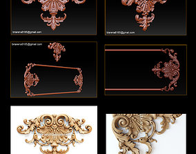 3D STL Models CNC Router - Carved decor