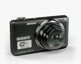 3D model Sony DSC-WX80 compact digital camera
